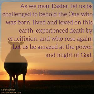Amazed Easter Sarah dohman