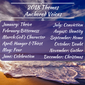 2018 Themes Anchored Voices