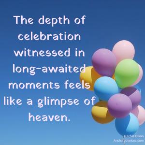 Celebration Rachel Olson