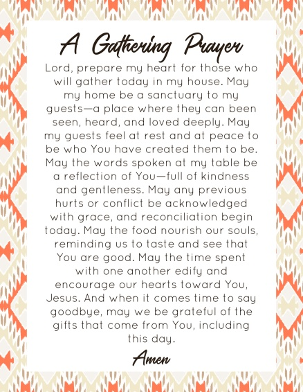 A Gathering Prayer (1)